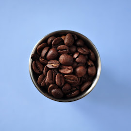 Shot of Coffee by Tim Hoggarth - Food & Drink Alcohol & Drinks ( beans, coffee, shot )