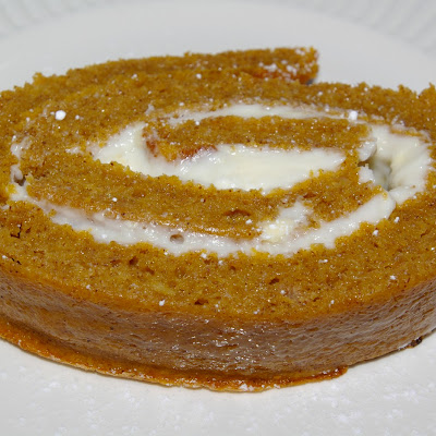 Maldon Pumpkin Cream Cheese Roll