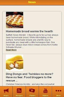 Homemade Bread Recipes FREE - screenshot