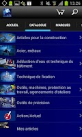 Screenshot of bws mobile (français)