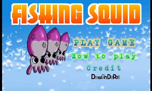 fishing squid