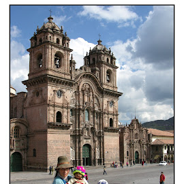 Photo? one dollar... by Guy Gillade - City,  Street & Park  Historic Districts ( cusco )