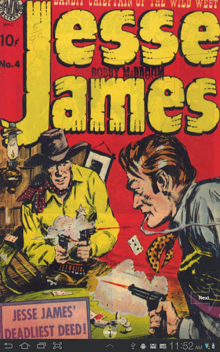 Jesse James Comic Book 4