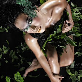 back to nature by Adi Luqman - People Body Art/Tattoos ( model, art, portrait )