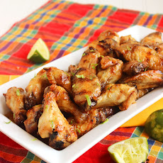 Grilled Honey-Habanero Chicken Wings
