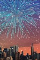 Screenshot of City Fireworks Free