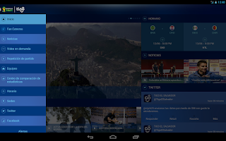 Screenshot of Tigo Copa Mundial FIFA 2014™