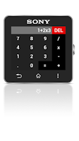 Screenshot of Calc for SmartWatch 2