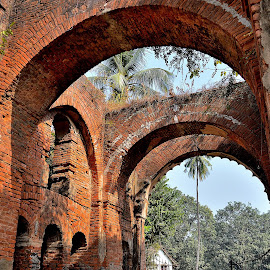 Arch Everywhere.. by Saikat Kundu - Buildings & Architecture Decaying & Abandoned ( gateway, brick, historical, public, natural, gate, abandoned,  )