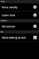 Screenshot of Talking & Answering Jenna Bot