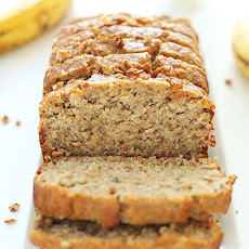 One Bowl Gluten Free Banana Bread (Vegan Optional)