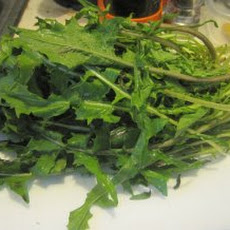 Stir-Fried Dandelion Greens Recipe