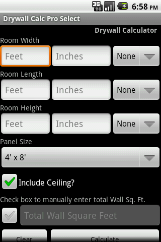 Drywall Calc Pro Select