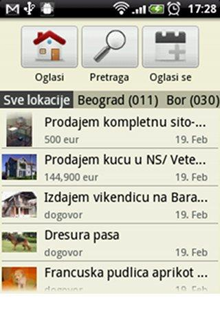 oglasna-tabla for android screenshot