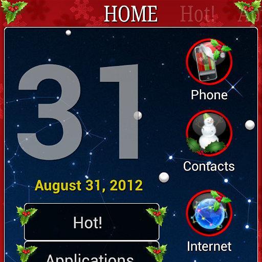 Christmas theme for ssLauncher