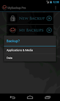 Screenshot of My Backup Root
