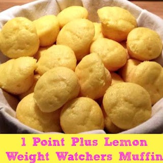 Lemon Weight Watchers Muffins