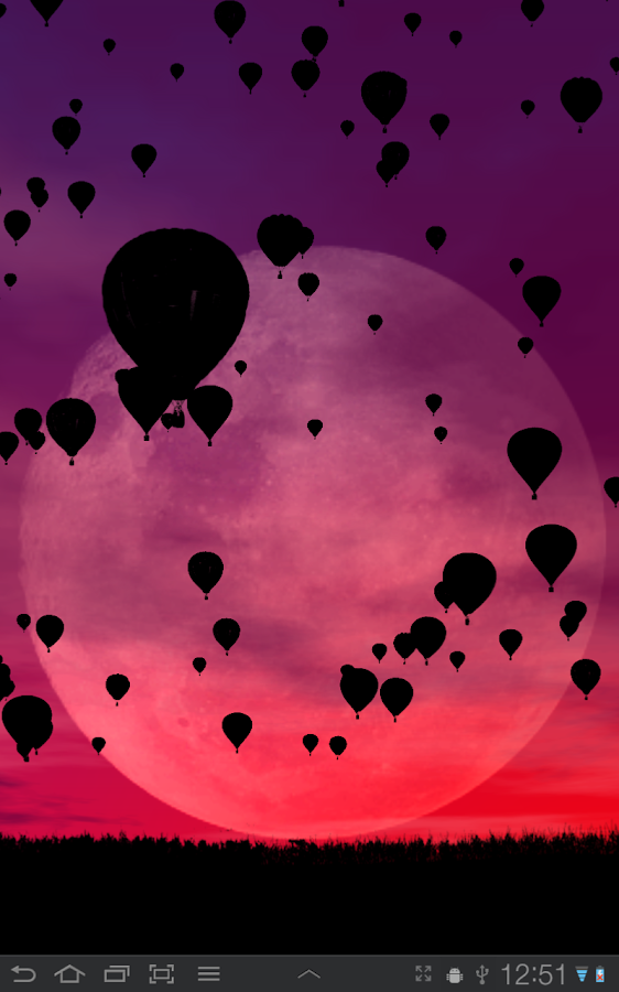 Hot Air Balloons Wallpaper Screenshot 8