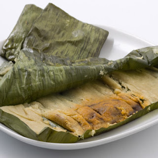 Turkey Tamales with Mole Negro