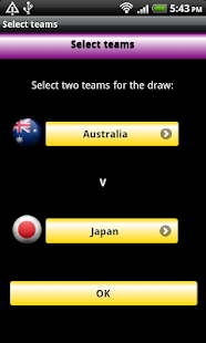 Asian Cup 2015 Game - screenshot
