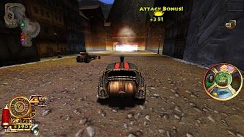 Screenshot of Steampunk Racing 3D