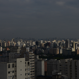 Sao Paulo - afternoon by Marcello Toldi - City,  Street & Park  Vistas