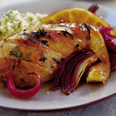 Citrus-spiked Chicken With Roasted Red Onions