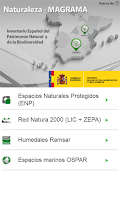 Screenshot of Naturaleza MAGRAMA