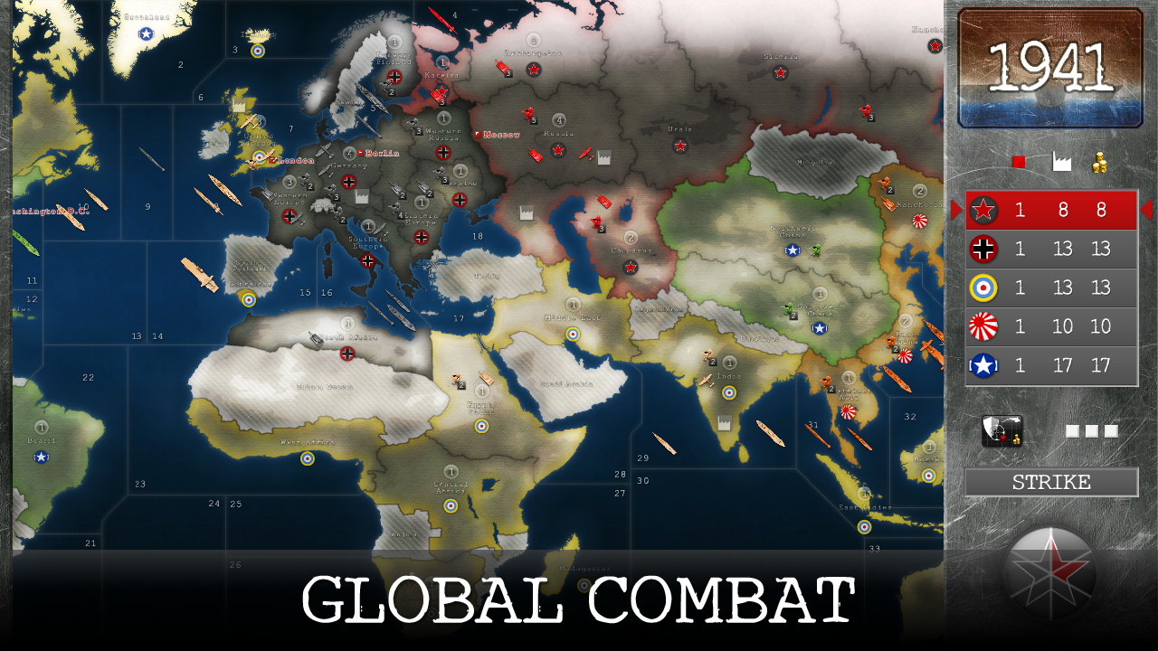 1941: World War Strategy Screenshot 0