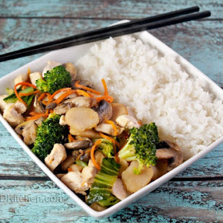 Sizzling Chicken Stir Fry