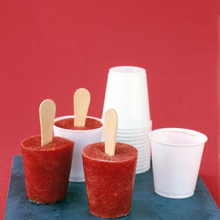 Strawberry Pops