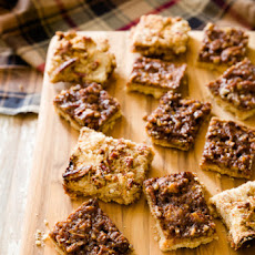 Cowboy Bars With Crumb Topping