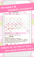 Screenshot of LadysCalendar(Period)