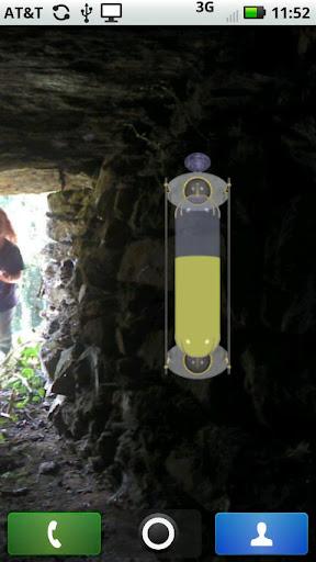 Steampunk Battery Meter