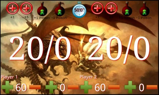 Screenshots  Compteur Magic The Gathering