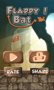 Clumsy Bat - screenshot