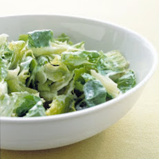 Romaine with Blue Cheese Vinaigrette