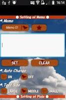 Screenshot of PixieMemo2