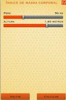 Screenshot of Calculadoras Emagrecer de Vez