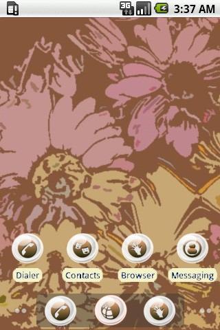 Totem Flowers [SQTheme] ADW