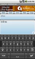 Screenshot of Odia Pad