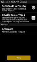 Screenshot of Ayuda PSU Lenguaje