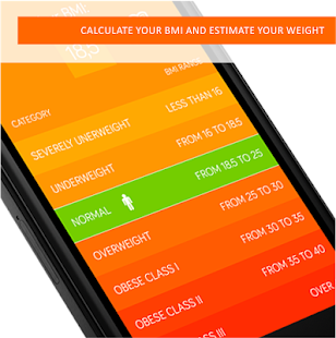 BMI+ Calculator - screenshot