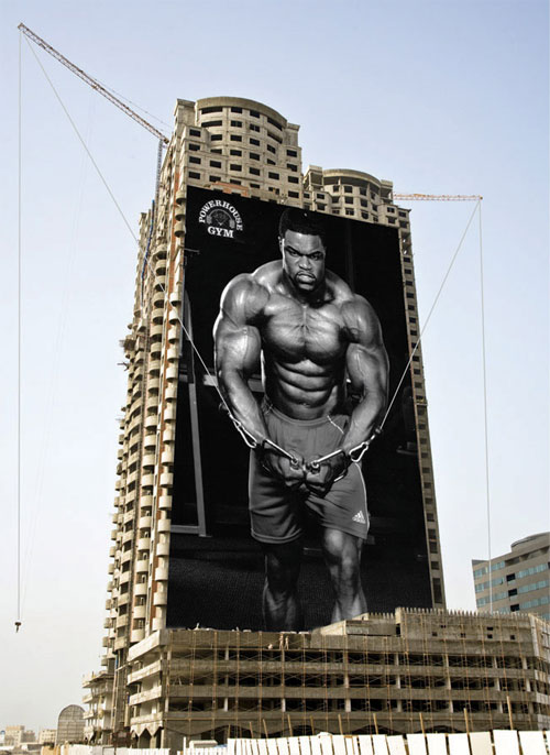 gym advertisement campaign