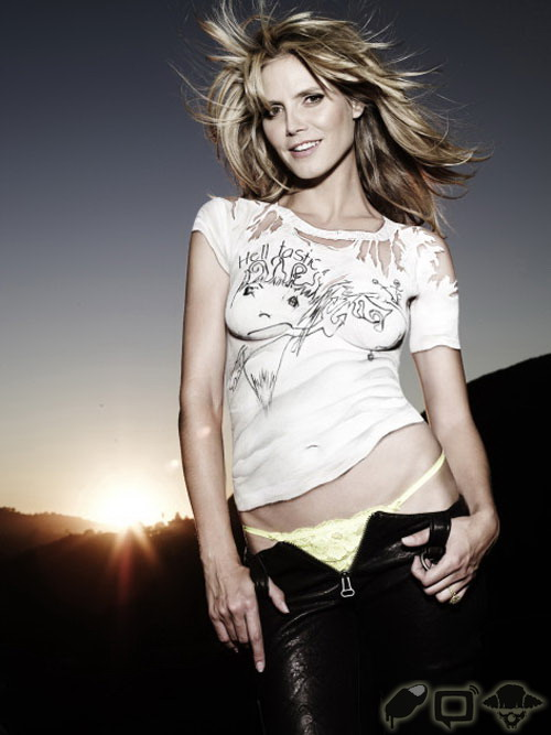 Heidi Klum: Does Body paint