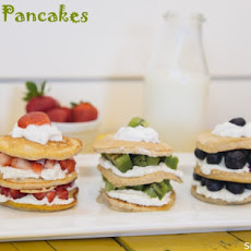 Banana Pancake Stacks