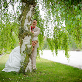 bea and dennis by Marcel Engel - Wedding Bride & Groom ( weddings, wedding, marriage )
