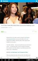 Screenshot of Mashable