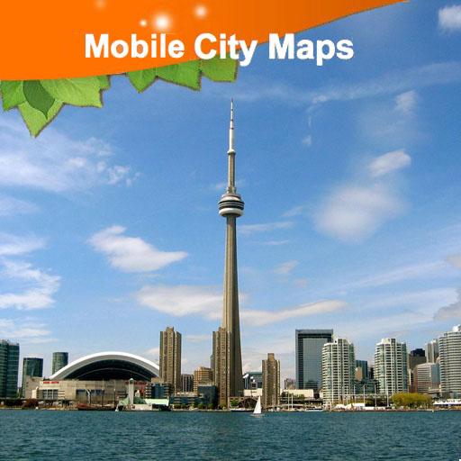 Toronto Street Map 旅遊 App LOGO-APP試玩