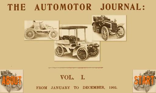 Automobiles 1903 Vol 1